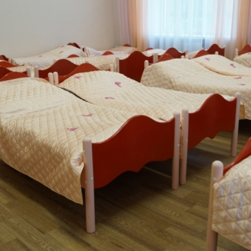 """Детская кровать """"ВОЛНА"""""""